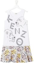Kenzo Jungle print dress