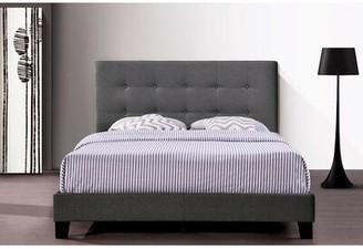 Latitude Run Corma Tufted Low Profile Platform Bed Size: Queen