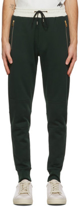 Paul Smith Green and Off-White Contrast Lounge Pants