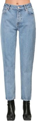 Balenciaga Carrot Cotton Denim Jeans