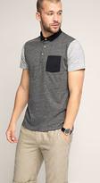 Esprit OUTLET multi colour block polo shirt