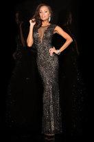 Scala 48569 Dress in Black Nude