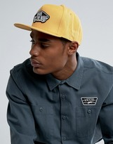 Vans Classic Patch Snapback Cap In Yellow V00tls50x