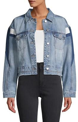 Blue Revival Patched Denim Jacket