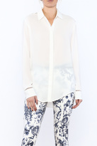 Zoa Lovely White Tunic Top