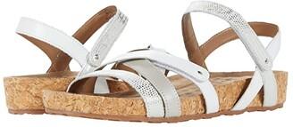 Walking Cradles Pool (White/Silver Lizard) Women's Sandals