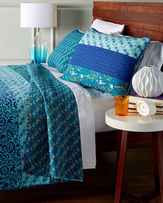 Triangle Home Fashion Floral Patch Cotton Quilt Set