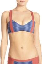 Boys + Arrows Women's 'Dancing Dixie' Colorblock Bikini Top