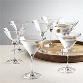 Crate & Barrel Set of 8 Viv Martini Glasses