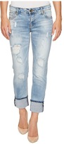 KUT from the Kloth Catherine Wide Cuff in Hail Women's Jeans