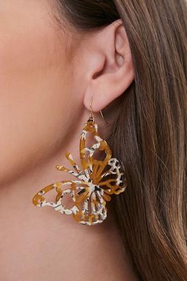 Forever 21 Butterfly Drop Earrings