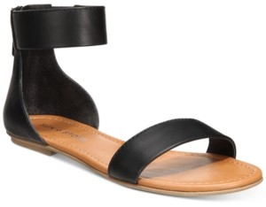 Sun + Stone Keley Flat Sandals, Created for Macy's Women's Shoes