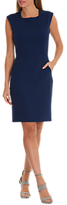 Betty Barclay Jersey Shift Dress, Evening Blue