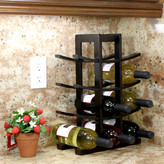 Varick Gallery Edgemont 12 Bottle Tabletop Wine Rack