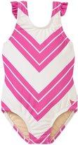 Pink Chicken Zoe Swim Suit (Baby) - Pink Stripe - 6-12 Months