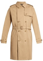A.p.c. Vavin Water-resistant Cotton Trench Coat
