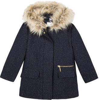 3 Pommes Wool-Blend Coat