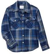 Joe's Jeans Plaid Twill Shirt (Little Boys)