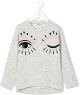 Kenzo wink eye sweatshirt