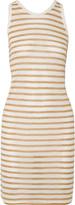 Alexander Wang Striped jersey dress
