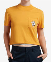 Volcom Juniors' Graphic-Print Cropped T-Shirt