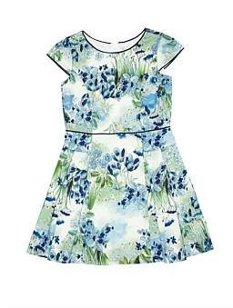 Review Floral Panelled Dress (Girls 8-16)
