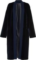 Agnona Luxe Cardigan Mink Coat