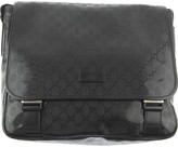 GUCCI Black GG Printed Changing Bag