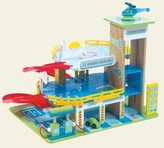 The Well Appointed House Le Toy Van Child's Toy Le Grand Garage Play Set-ON BACKORDER UNTIL APRIL 2016
