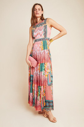 Alessandra Maxi Dress By Bhanuni by Jyoti in Pink Size 0