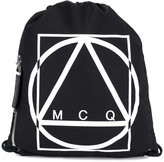 McQ by Alexander McQueen drawstring backpack - men - Polyester - One Size