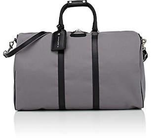 Anthony Logistics For Men T. Men's Classic Canvas & Leather Duffel Bag - Gray