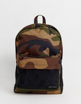 Spiral Prime backpack in camo print