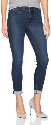 NYDJ Women's Petite Size Girlfriend Jeans in Smart Embrace Denim