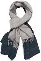 "Donni Charm Women's Donni Merge Plaid Wool Scarf, 88"" x 18"""