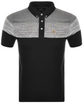 Luke 1977 Mickey Velvet Polo T Shirt Black