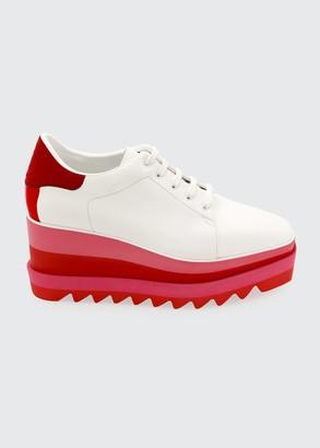 Stella McCartney Sneakelyse Lace-Up Bright Sneakers