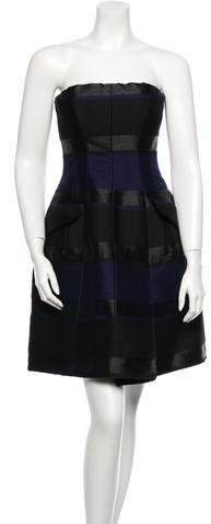 Christian Dior Strapless Dress