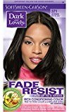 Soft Sheen Carson Dark and Lovely Fade Resist Rich Conditioning Color, Jet Black 371