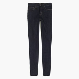 """J.Crew 8"""" Mid-rise skinny Jean in Rinse wash with 30"""" inseam"""