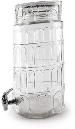 Circle Glass Tower of Pisa 281oz dispenser