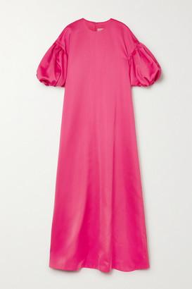Huishan Zhang Celeste Satin Gown - Pink