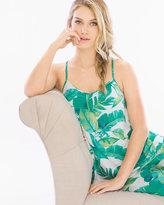 Soma Intimates Racerback Pajama Cami Lush Leaves Deep Lake