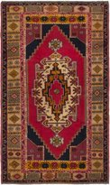 Ecarpetgallery eCarpet Gallery 190229 Hand-Knotted Anadol Vintage Traditional 4' x 8' 100% Wool Kitchen Dining Room Area Rug