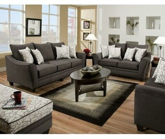 """Winston Porter Nolhan 96"""" Flared Arm Sofa Bed with Reversible Cushions"""