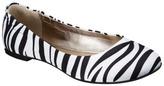 Mossimo Women's Ona Ballet Flat - Zebra