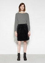 Mhl By Margaret Howell Side Button Skirt