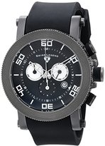 Swiss Legend Men's 30465-GM-01 Cyclone Analog Display Swiss Quartz Black Watch