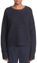 Vince Women's Drop Shoulder Wool Blend Crewneck Sweater