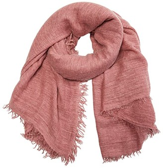 Free People Sun Washed Travel Scarf (Mars) Scarves